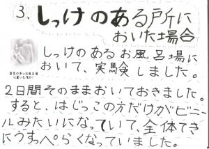 堀江莉奈ちゃん スライムの実験6